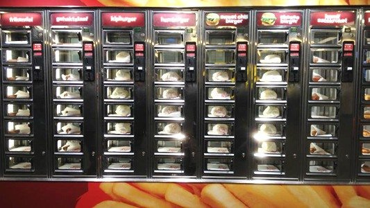 Burger-machine